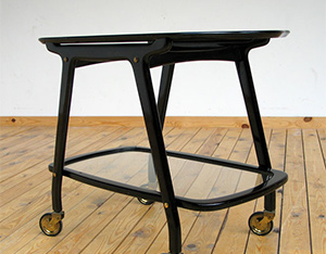1950 Italian Serving cart Cesare Lacca eames era