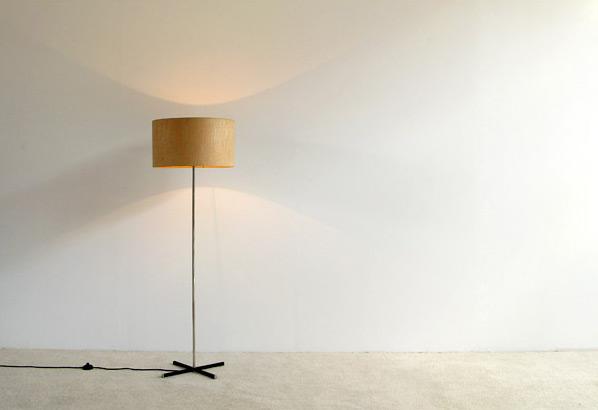 1960 Modern chrome floor lamp
