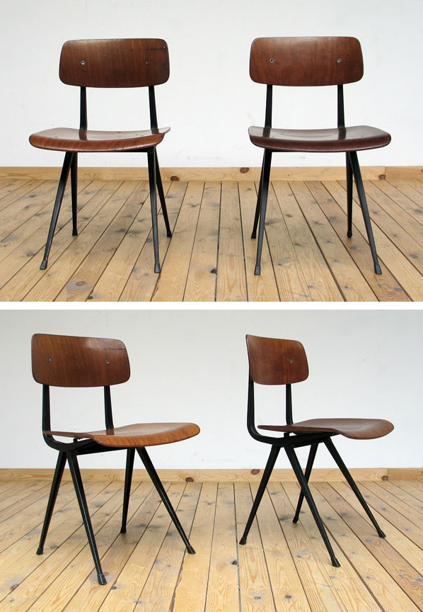 2 Industrial Friso Kramer chairs model Result Large