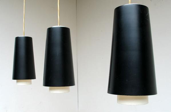 3 Industrial lamps Raak Amsterdam