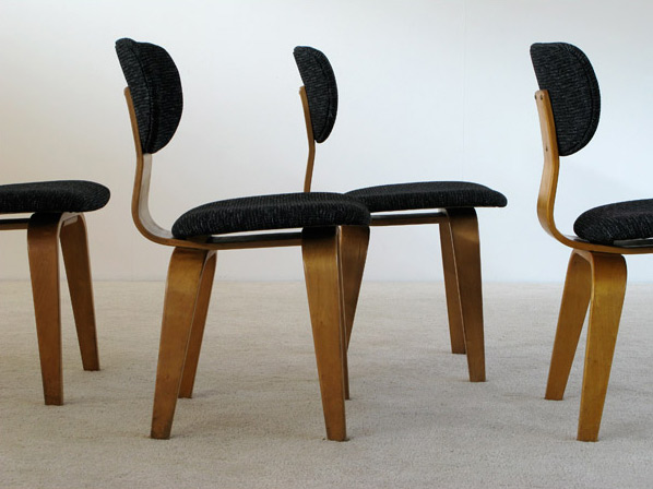 4 Cees Braakman SB03 dinning chairs UMS Pastoe