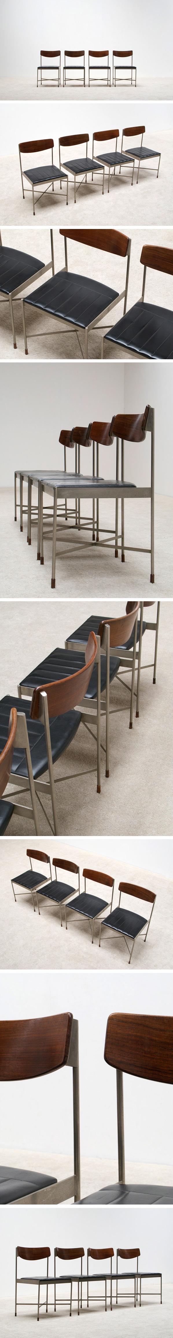 4 classic Italian dinning chairs Large