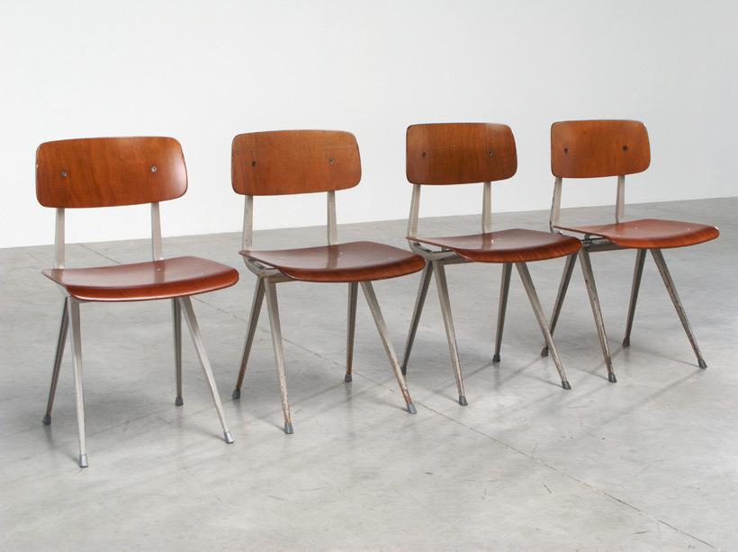 4 Friso Kramer Industrial Result chairs Ahrend de Cirkel
