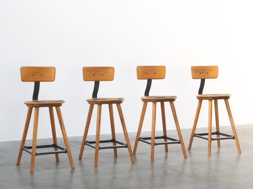 4 University Lab stools
