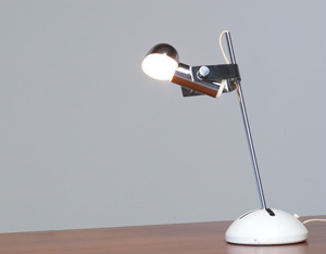 Adjustable Italian table or desk light for Luci