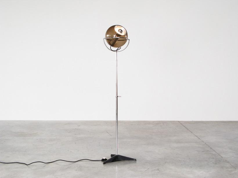 Adjustable Raak Globe 2000 floor lamp
