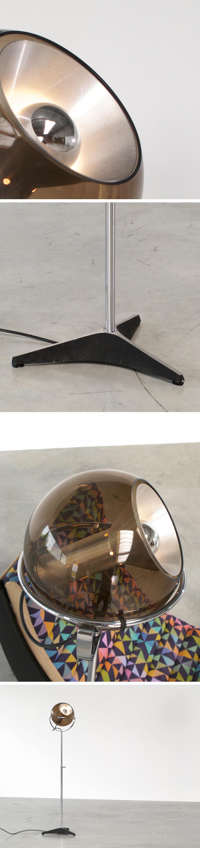 Adjustable Raak Globe Sphere 2000 floor lamp Large