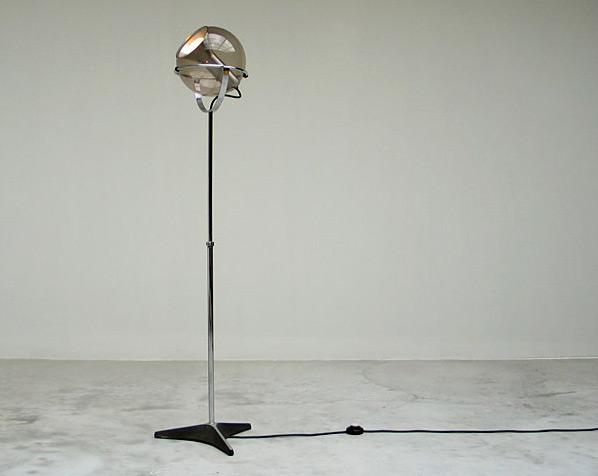 Adjustable Space Age Raak floor lamp 1970