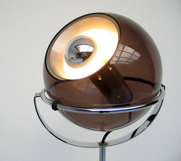 Adjustable Space Age Raak Globe 2000 floor lamp 1970