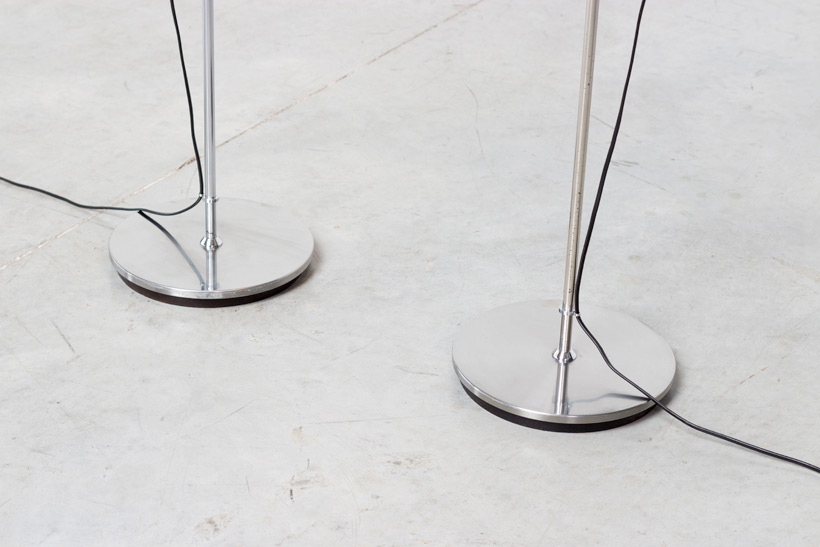 Alain Richard pair floor lamps A14 by Pierre Disderot img 5