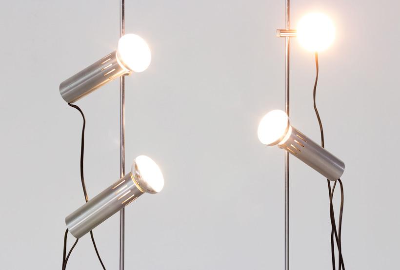 Alain Richard pair floor lamps A14 by Pierre Disderot img 8