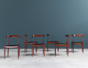 Alfred Hendrickx 6 dinning chairs model 500