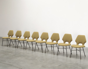 Alfred Hendrickx Belform 8 S14 dinning chairs