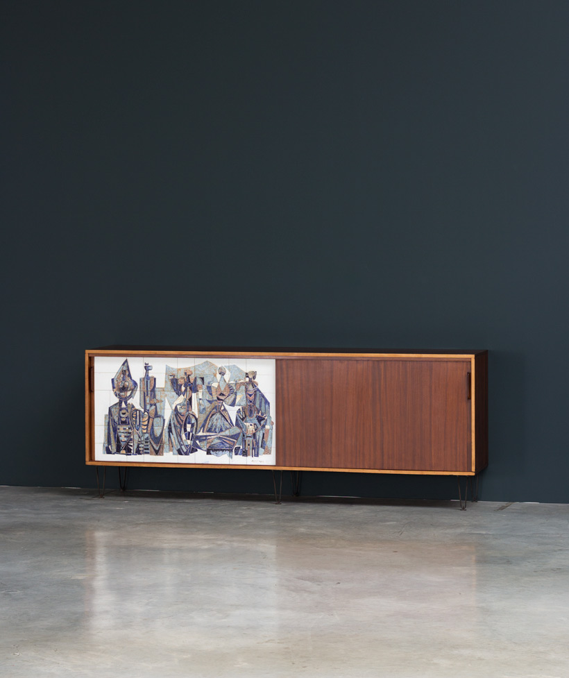 Alfred Hendrickx Belform Large Sideboard 308 Willy Meysmans Ceramic