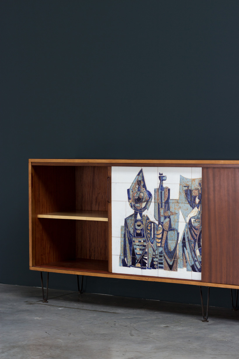 Alfred Hendrickx Belform Large Sideboard 308 Willy Meysmans Ceramic img 5
