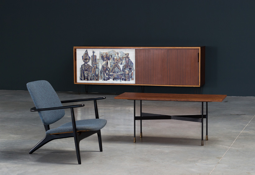 Alfred Hendrickx Belform Large Sideboard 308 Willy Meysmans Ceramic img 7
