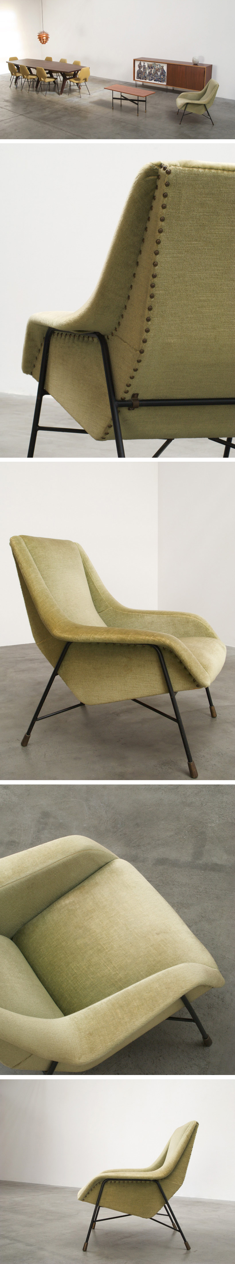 Alfred Hendrickx Belform Lounge chair S 13 Large
