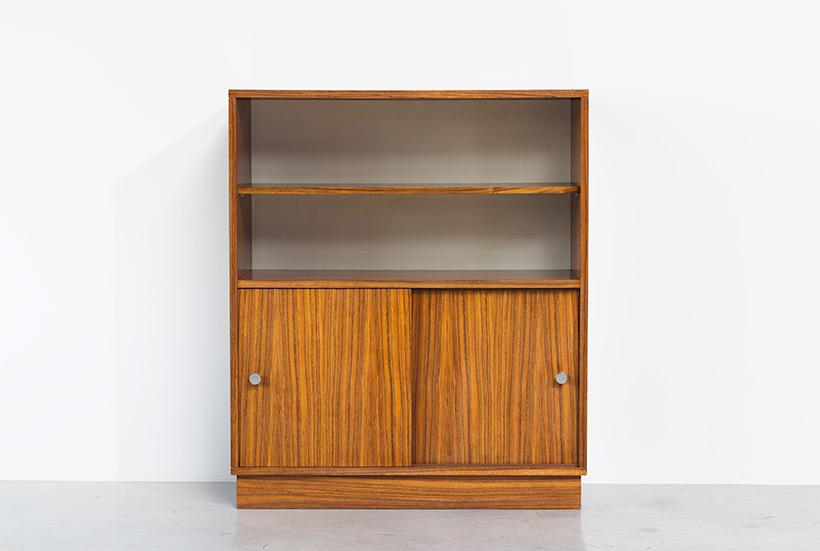 Alfred Hendrickx cabinet N54 for Belform Zebrano wood 1960 img 3