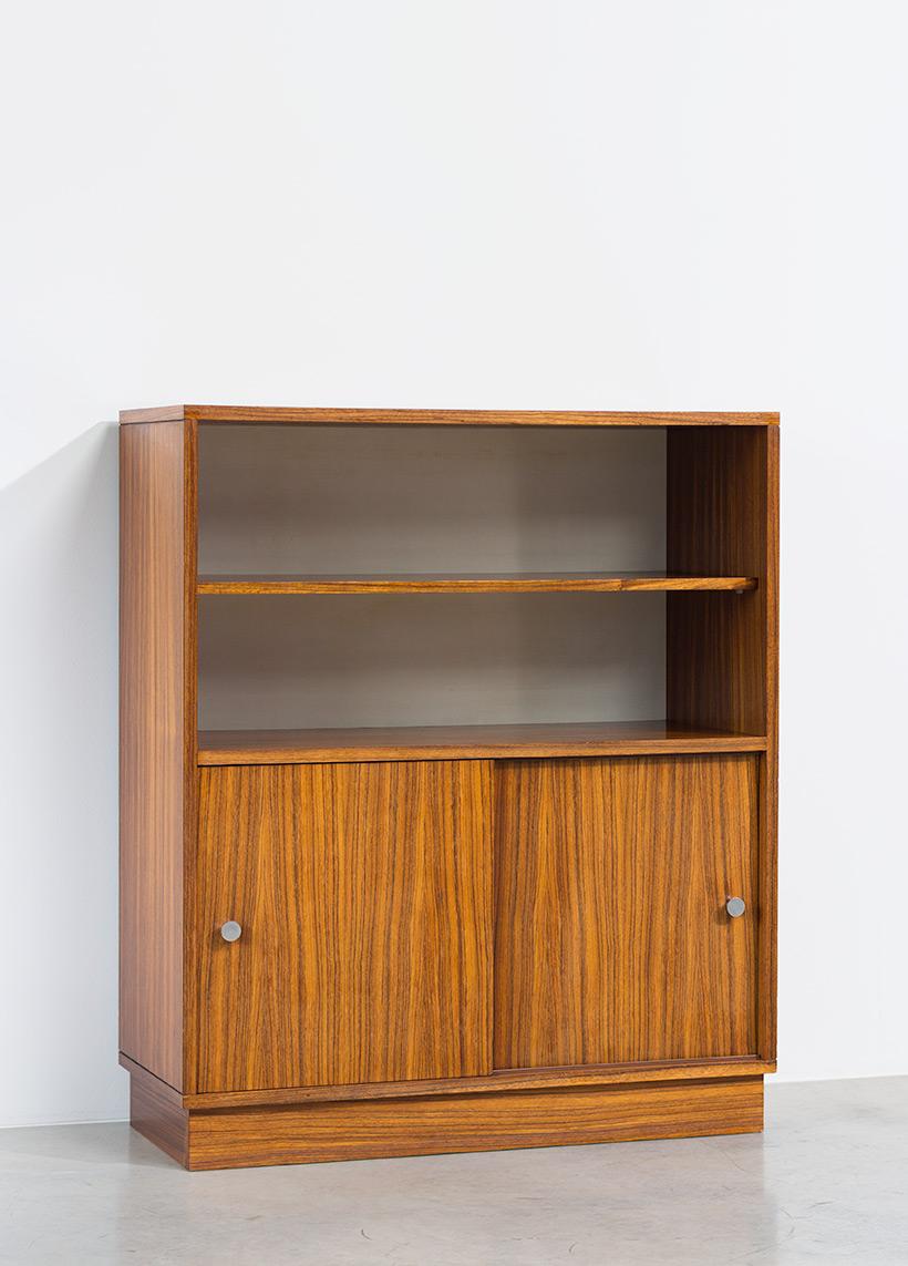 Alfred Hendrickx cabinet N54 for Belform Zebrano wood 1960 img 4