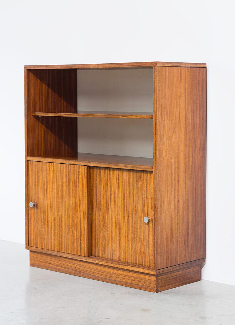 Alfred Hendrickx cabinet N54 for Belform Zebrano wood 1960 img 5