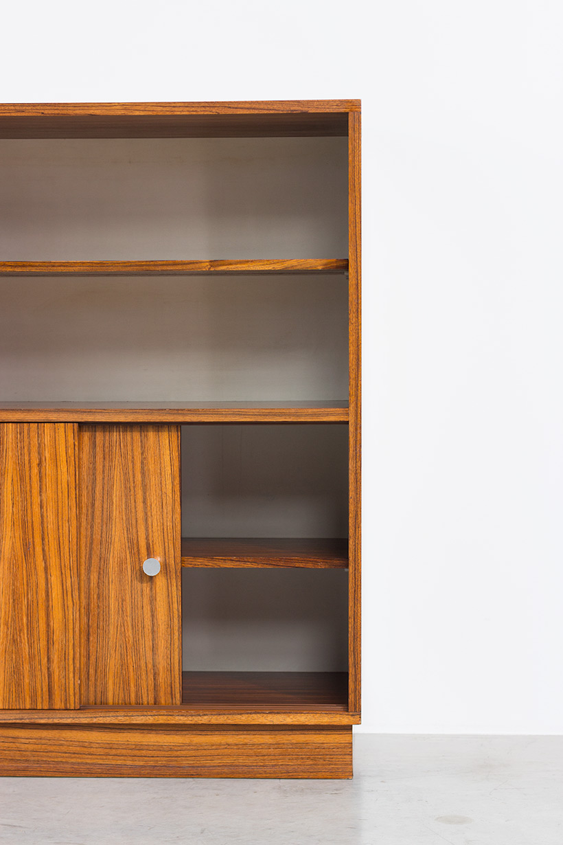 Alfred Hendrickx cabinet N54 for Belform Zebrano wood 1960 img 6
