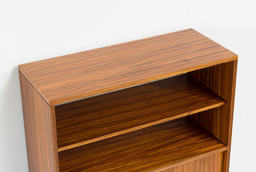 Alfred Hendrickx cabinet N54 for Belform Zebrano wood 1960 img 8
