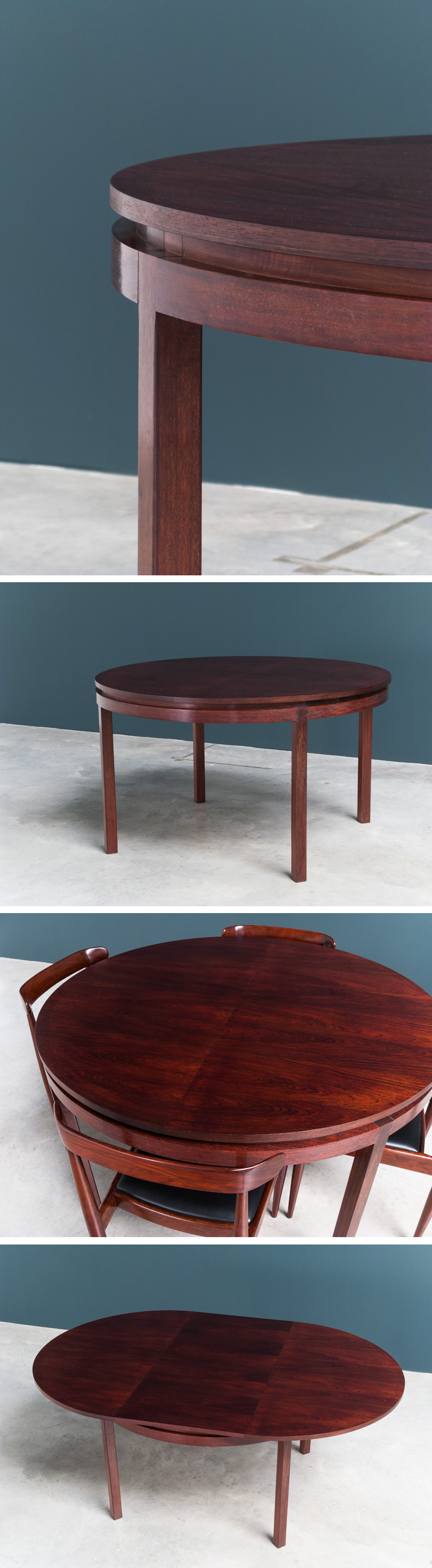 Alfred Hendrickx dinning table model 600 Large