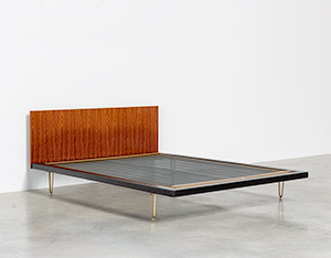 Alfred Hendrickx double bed DB 150 for Belform 1950s
