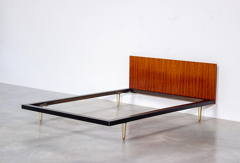 Alfred Hendrickx double bed DB 150 for Belform 1950s img 3