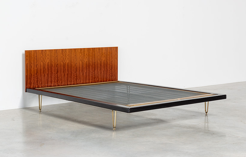 Alfred Hendrickx double bed DB 150 for Belform 1950s img 5
