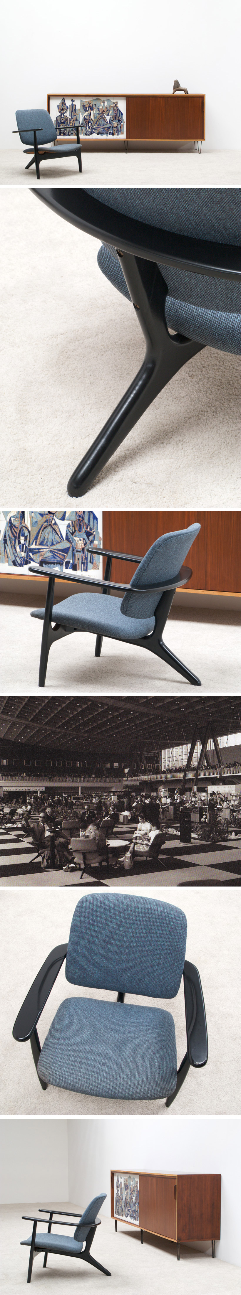 Alfred Hendrickx Lobby Lounge chair S3 Large