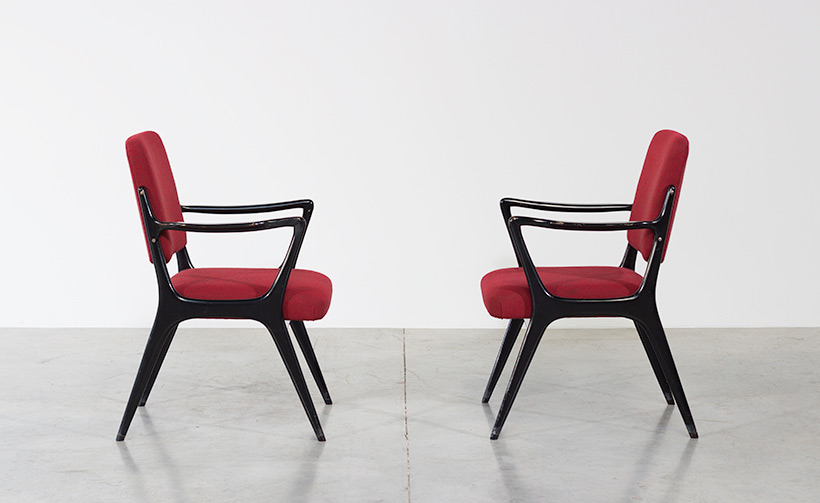Alfred Hendrickx pair armchairs model S5 Belform img 4