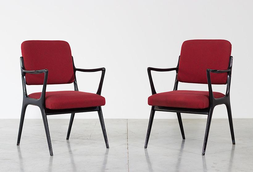 Alfred Hendrickx pair armchairs model S5 Belform img 5