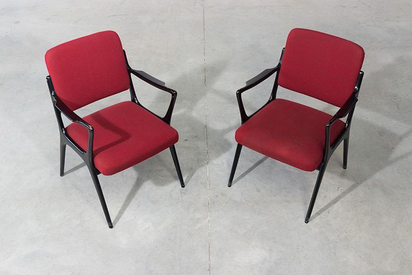 Alfred Hendrickx pair armchairs model S5 Belform img 6