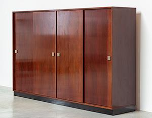 Alfred Hendrickx rosewood wardrobe for Belform 1970s
