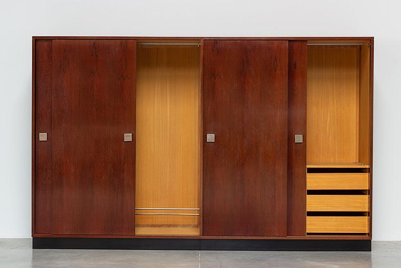 Alfred Hendrickx rosewood wardrobe for Belform 1970s img 3