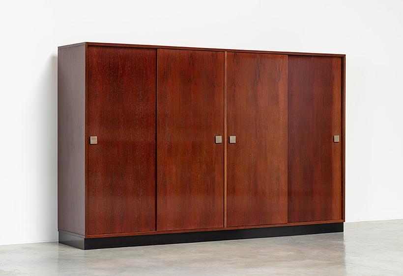 Alfred Hendrickx rosewood wardrobe for Belform 1970s img 4