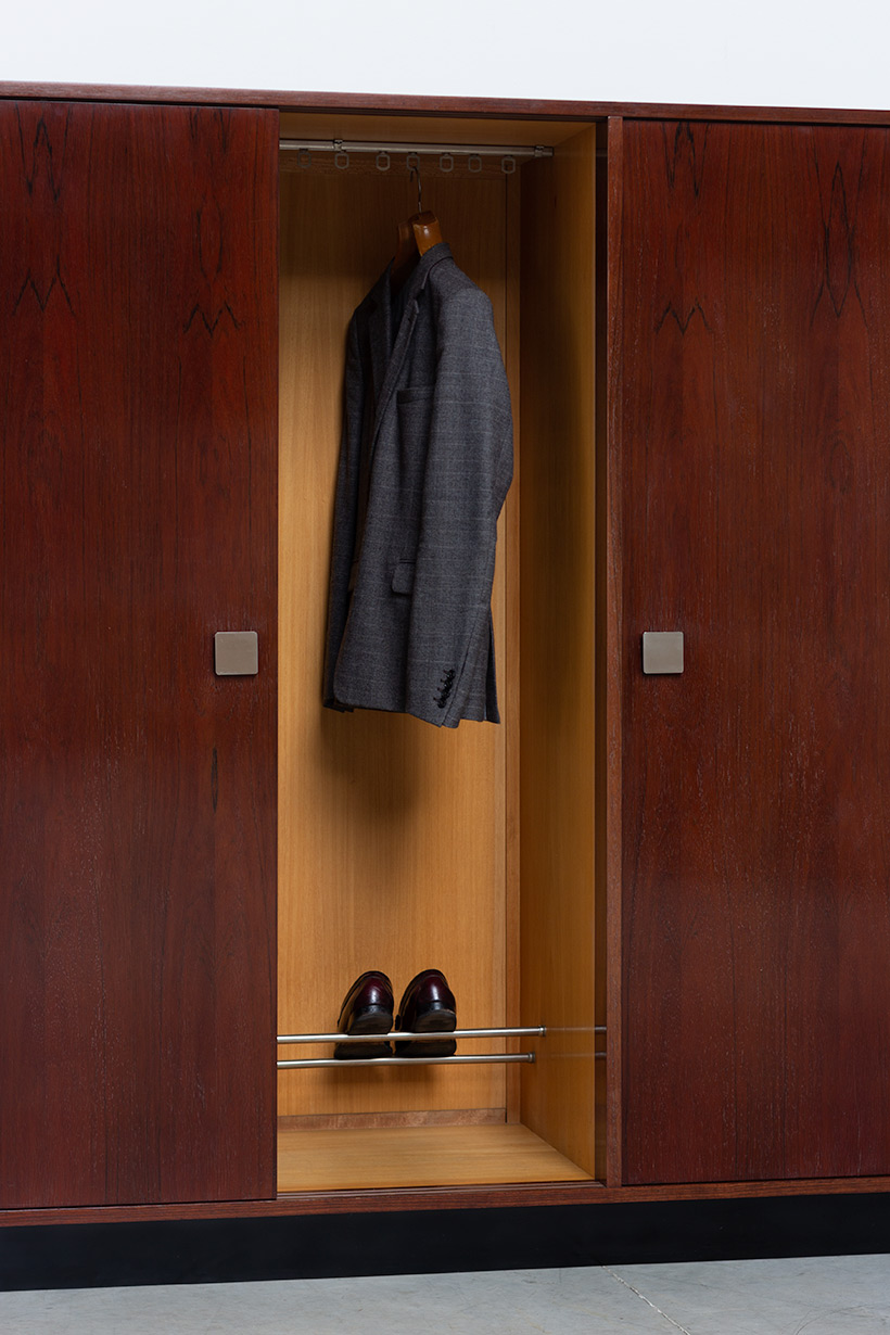 Alfred Hendrickx rosewood wardrobe for Belform 1970s img 7