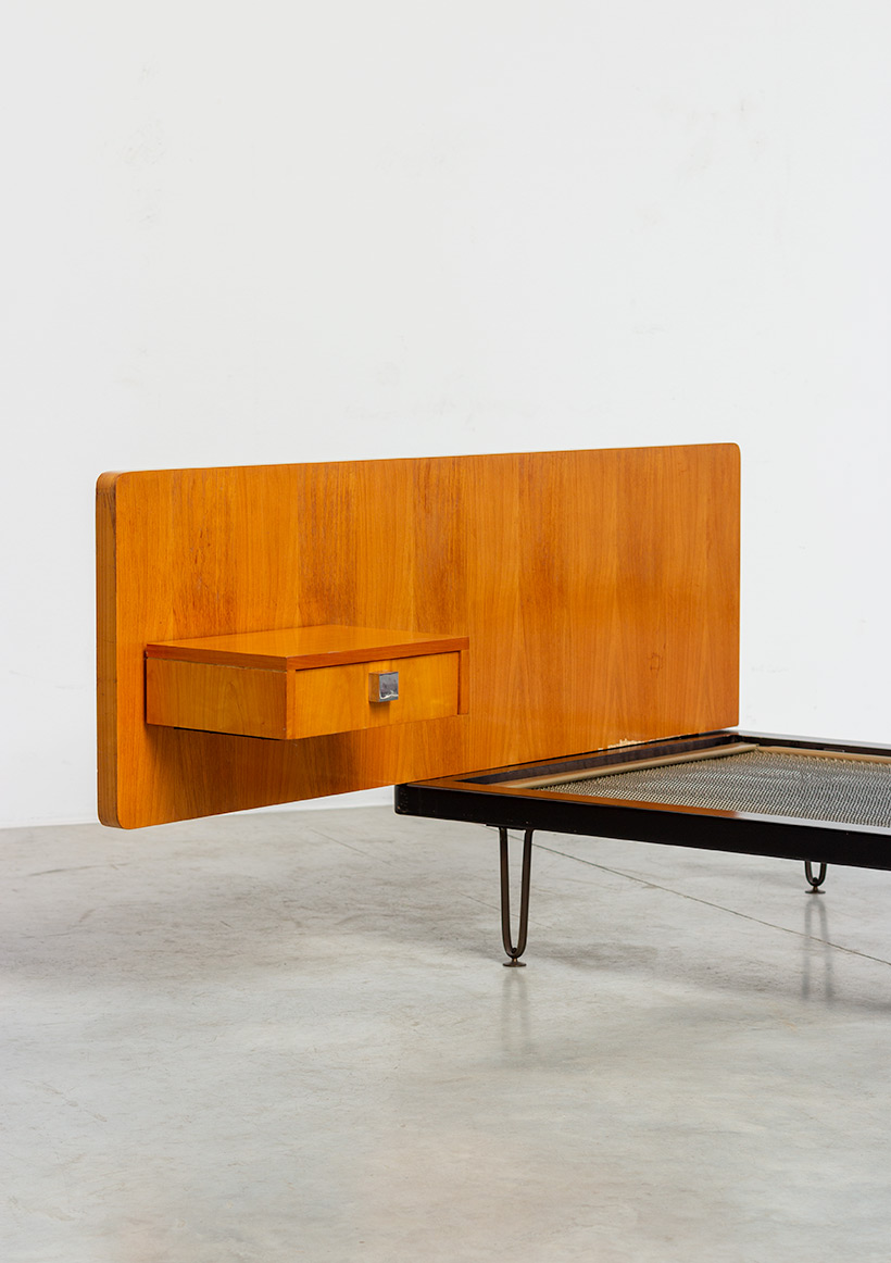 Alfred Hendrickx single bed for Belform 1950s img 4
