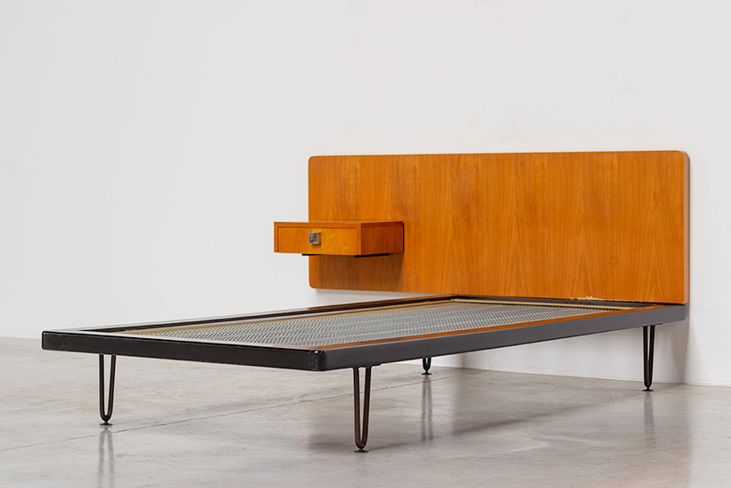 Alfred Hendrickx single bed for Belform 1950s img 7