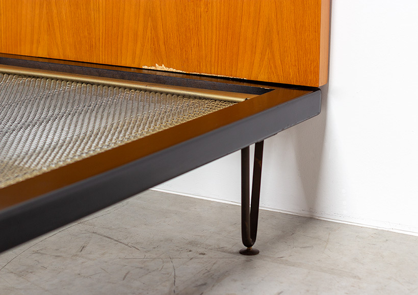 Alfred Hendrickx single bed for Belform 1950s img 8