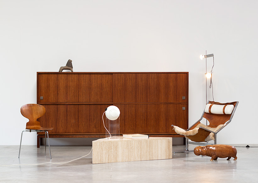 Alfred Hendrickx two level sideboard or highboard for Belform 1960s