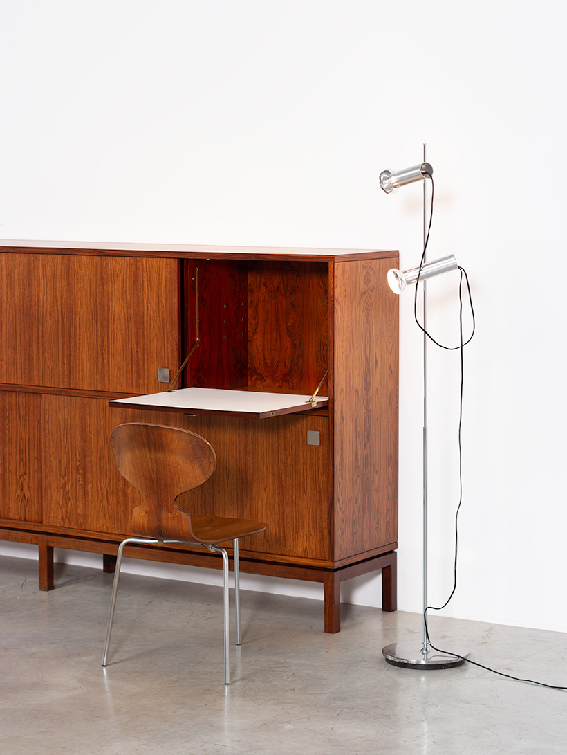 Alfred Hendrickx two level sideboard or highboard for Belform 1960s img 9
