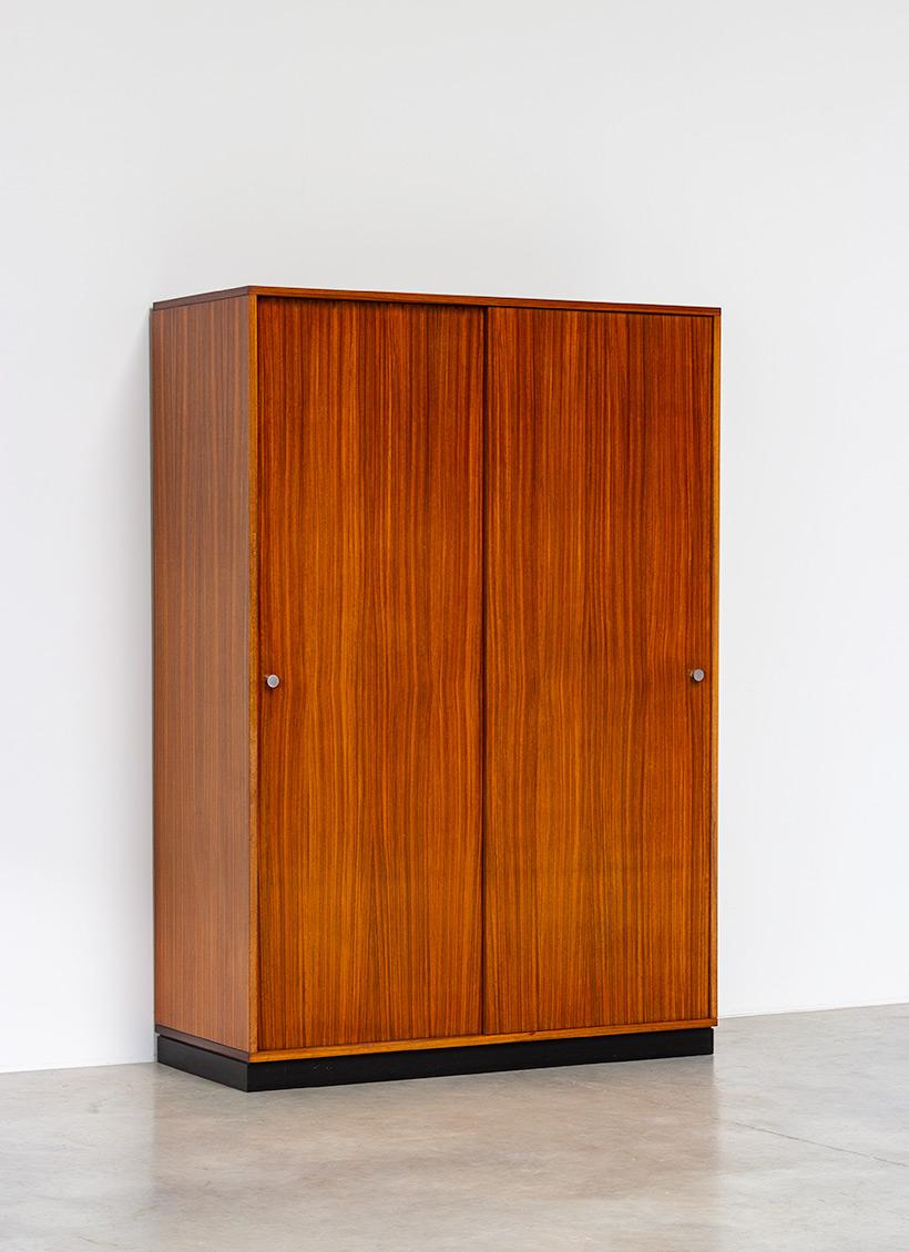 Alfred Hendrickx Zebrano wood wardrobe for Belform 1960 img 4