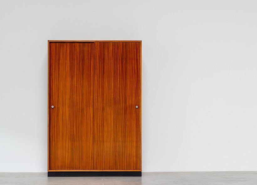 Alfred Hendrickx Zebrano wood wardrobe for Belform 1960 img 5