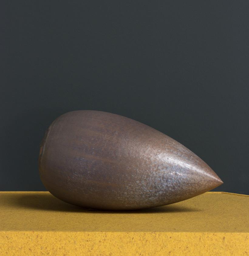 Antonio Lampecco oxidized grey vase img 4