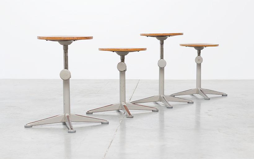 Architect swivel stools designed by Friso Kramer