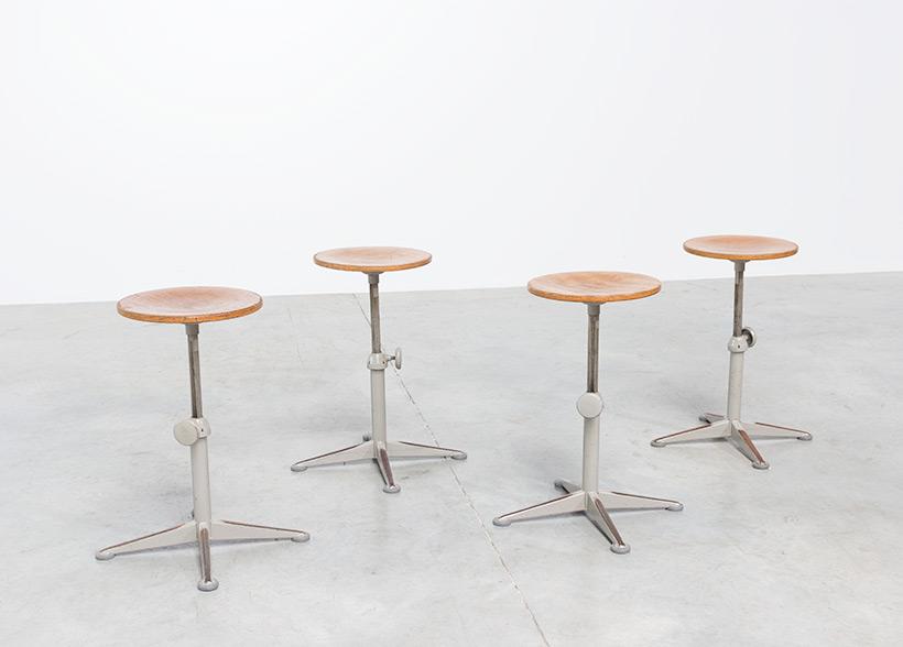 Architect swivel stools designed by Friso Kramer img 5
