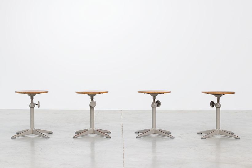 Architect swivel stools designed by Friso Kramer img 6