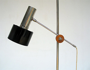 Architectural Floor lamp Baltensweiler 1960